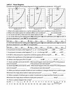 Chemistry Ws Phase Diagrams Answers