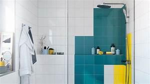 comment renover les murs dune salle de bains sans enlever With peindre carrelage salle de bains
