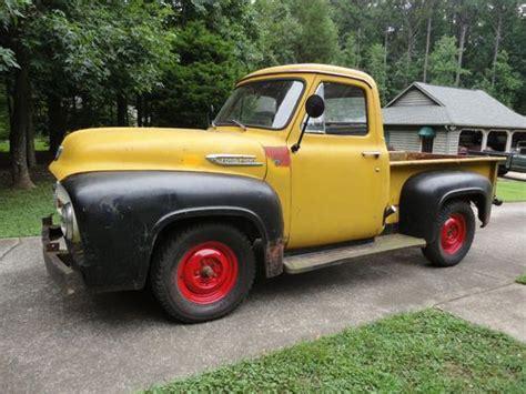 purchase used 1953 ford f 100 custom cab was marmon herrington 4x4 flathead v8 in acworth