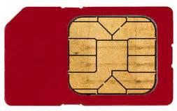 sim card royalty  stock image image