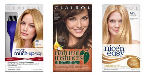 clairol hair color   box southern savers