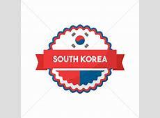 Free South korea flag icon Vector Image 1624258