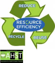 ahst resource efficiency environmental awareness