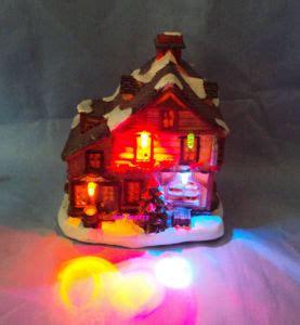 led lights for christmas village houses china resin christmas house with led led christmas