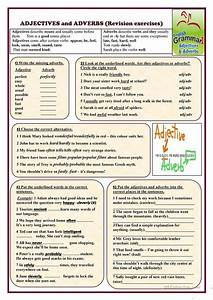 Adjectives And Adverbs  Revision Exercises