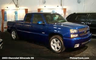 2003 Chevy Silverado SS Truck