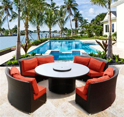venice 70 quot sofa sectional dining set outdoor wicker
