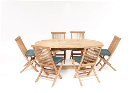 Garden Tables by Teak Dining Set Teak Garden Furniture Humber Imports