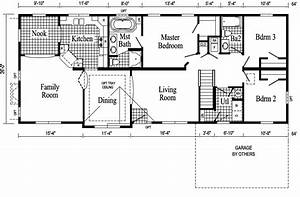 Elegant and affordable living made possible by ranch floor for Floor plans for ranch homes