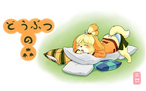 Isabelle Animal Crossing Wallpaper - sleepy isabelle wallpaper by gikamoth on deviantart