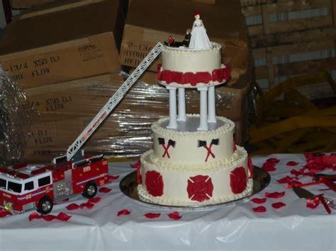 firefighter wedding cake creative cakes pinterest