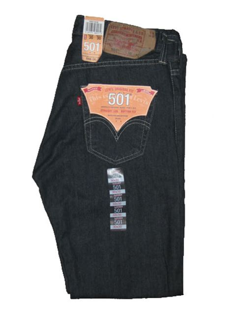 Levis 501 Jeans  Clean Rigid (0536)  $4599  Levis 501