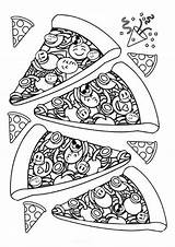 Coloring Dessert Tulamama sketch template