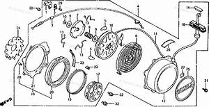 Honda Atv 1983 Oem Parts Diagram For Recoil Starter