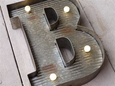 metal 26cm tall light up fairground carnival style letters wall mounted a z ebay