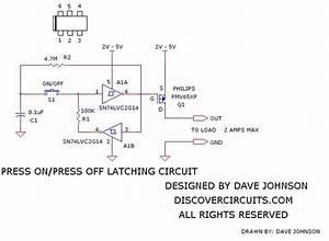 On  Off Latch Circuit 6 - Basic Circuit