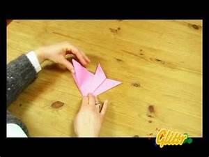 Einfache Krippe Selbst Basteln : blumen basteln einfache falttechnik origami youtube ~ Orissabook.com Haus und Dekorationen