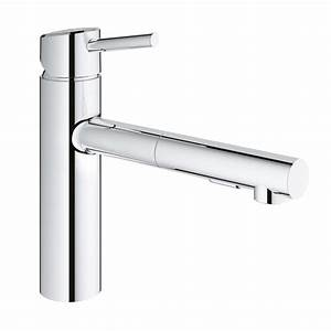 Grohe Concetto Küchenarmatur : grohe concetto kitchen mixer with pull out spray chrome buy online in hong kong singapore ~ Watch28wear.com Haus und Dekorationen