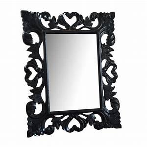 Miroir Baroque Noir : miroir baroque ~ Teatrodelosmanantiales.com Idées de Décoration