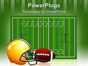 PowerPoint Template: the measurement of the rugby field ...