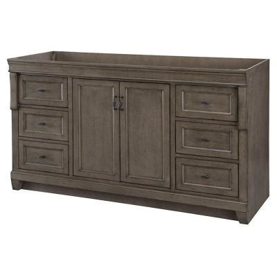 Distressed Bathroom Vanity Gray by Home Decorators Collection Naples 60 In W Vanity Cabinet