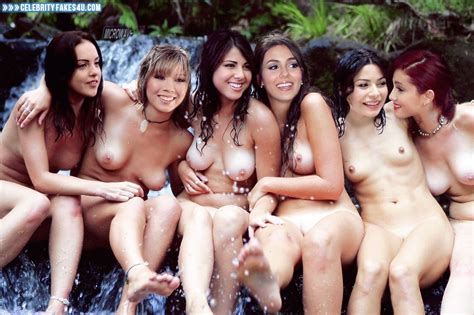 Daniella Monet Jennette Mccurdy Elizabeth Gillies Victoria Justice Miranda Cosgrove
