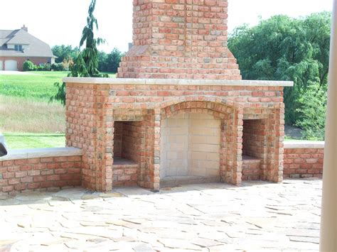 outdoor fireplace brick outdoor rumford gallery superior clay