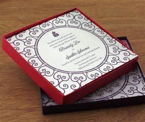 Luxurious Wedding Invitation Boxes