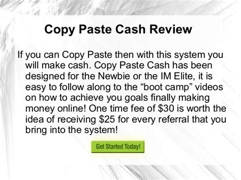 copy paste review