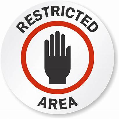 Restricted Area Floor Sf