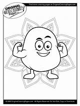 Coloring Pages Potato Food sketch template