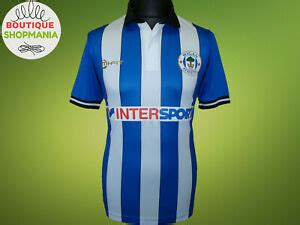 WIGAN ATHLETIC HOME 2014-2015 S MI-FIT FOOTBALL SHIRT ...