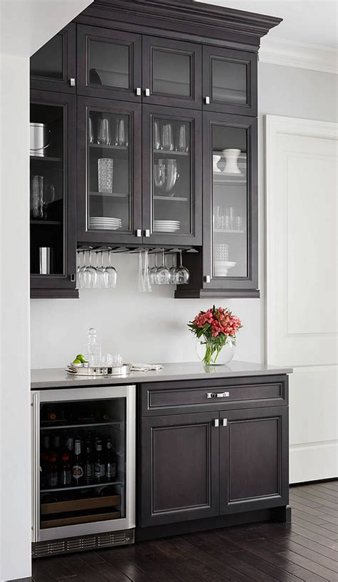 black kitchen pantry cabinet 43 insanely cool basement bar ideas for your home 4709
