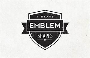 Vintage Emblem Shapes — Medialoot