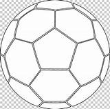 Football Colouring Coloring Pages Pitch Ball Clipart Beach Circle Imgbin sketch template