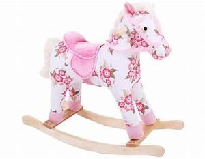 Cheval A Bascule Rose : acheter un cheval bascule ~ Teatrodelosmanantiales.com Idées de Décoration