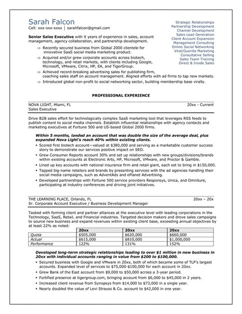 Business Resume Sles Free by Professional Resume Sles In Word Format 28 Images