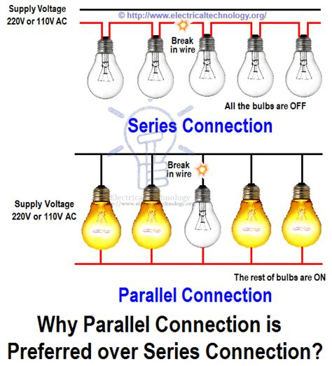 How Wire Lights Parallel Switches Bulbs