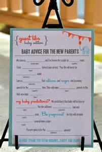 baby mad libs new mad libs baby shower edition circus elephant by blushnotes