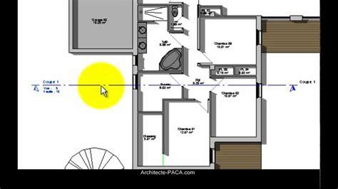 cuisine coupe d une maison pour permis de construire d 195 169 finition exemple comment faire un plan