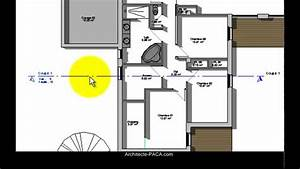 cuisine coupe d39une maison pour permis de construire da With comment faire un plan de maison