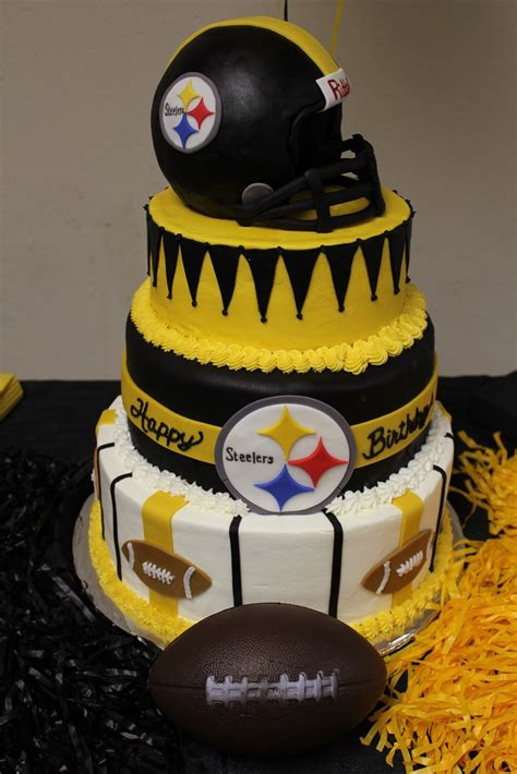 steelers birthday cake cakes by camille april 2011