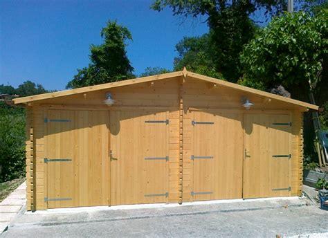 garage box auto e casette prefabbricate in legno