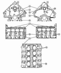 2007 Dodge Charger R  T 5 7l Hemi V8 Engine  Long Block