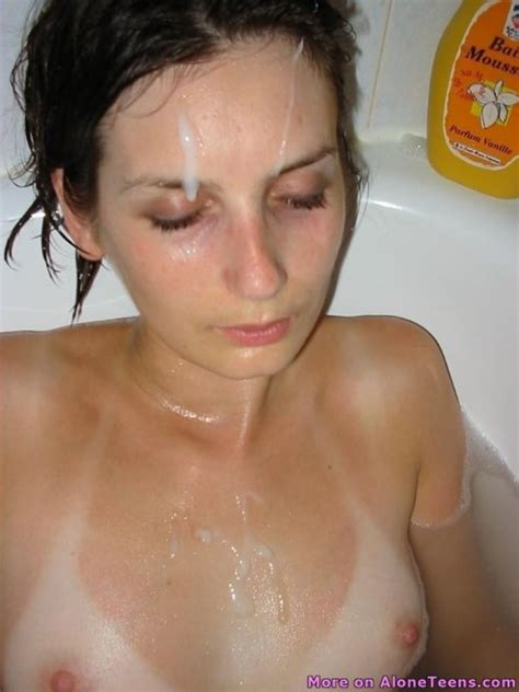 Cum On Face And Tits In Bath Porn Pic EPORNER