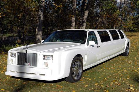 Rolls Royce Phantom Limousine Rental Edmonton