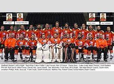 Sheffield Steelers Record of all Games Played