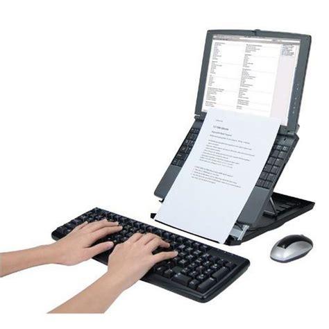 ordinateur portable bureau vall support pour ordinateur portable desq avec porte documents