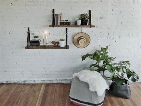 make a floating bookshelf using old belts danmade watch