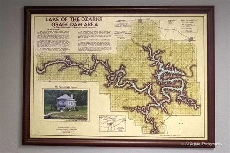 Lake Of The Ozarks Boating Map by Lost Map Of Lake Of The Ozarks Is Found In A Strange